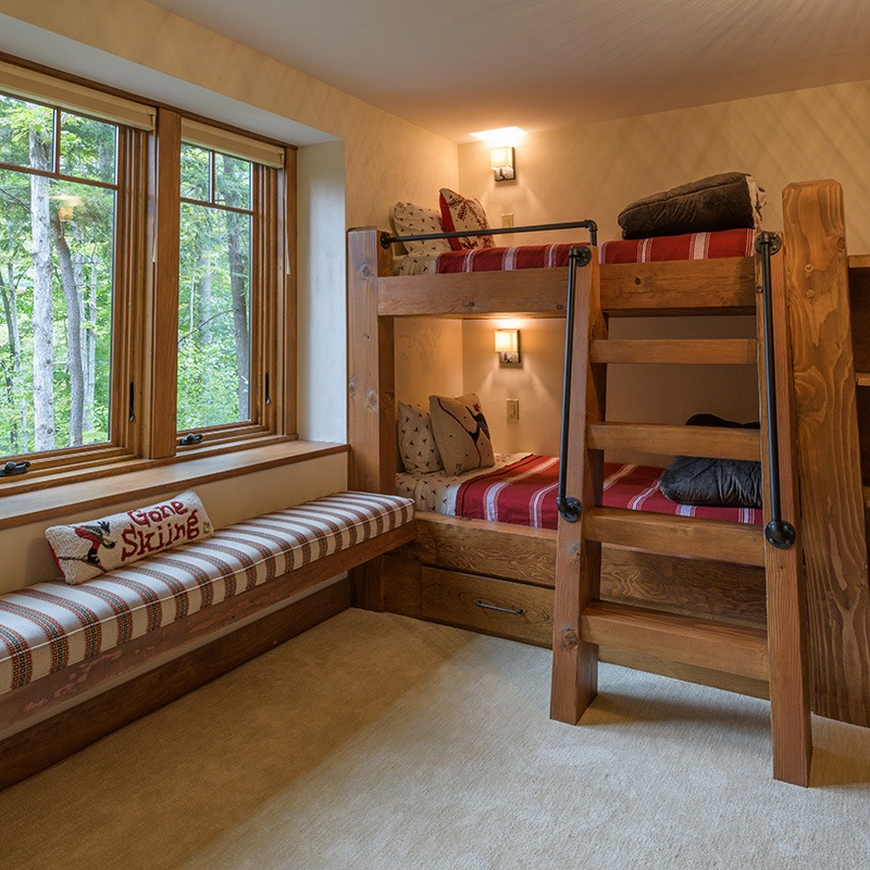 Window Seat and Bunkbeds