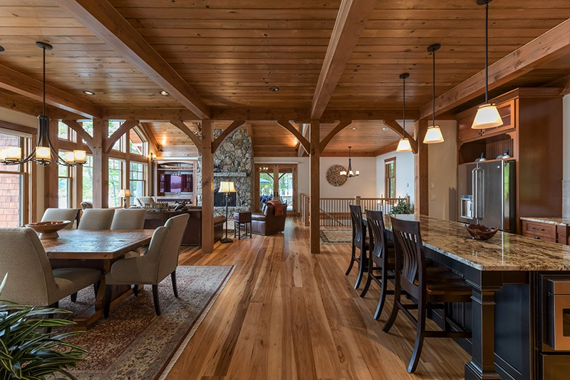 Open concept Kitchen and Dinning Room