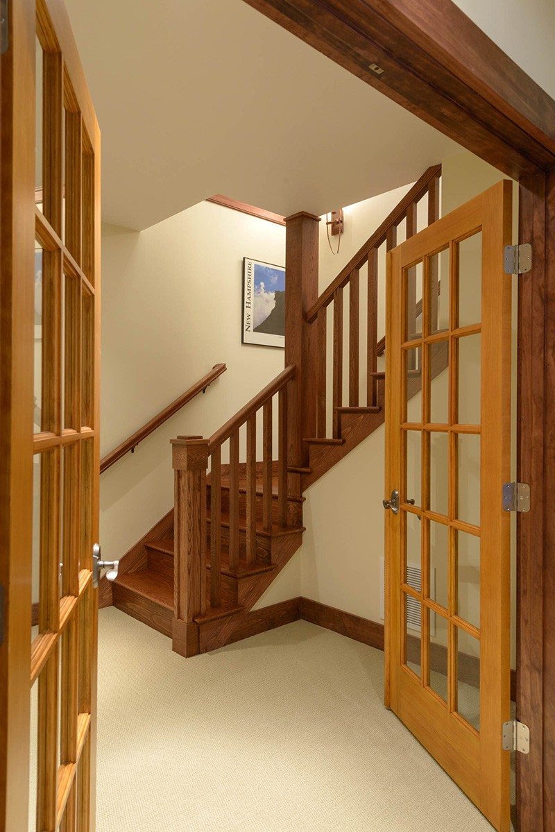 Downstairs French Doors
